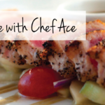 August 2nd • Cooking & Wine with Chef Ace