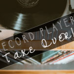 April 25th • Record Player Take Over & Grilled Cheese Night!