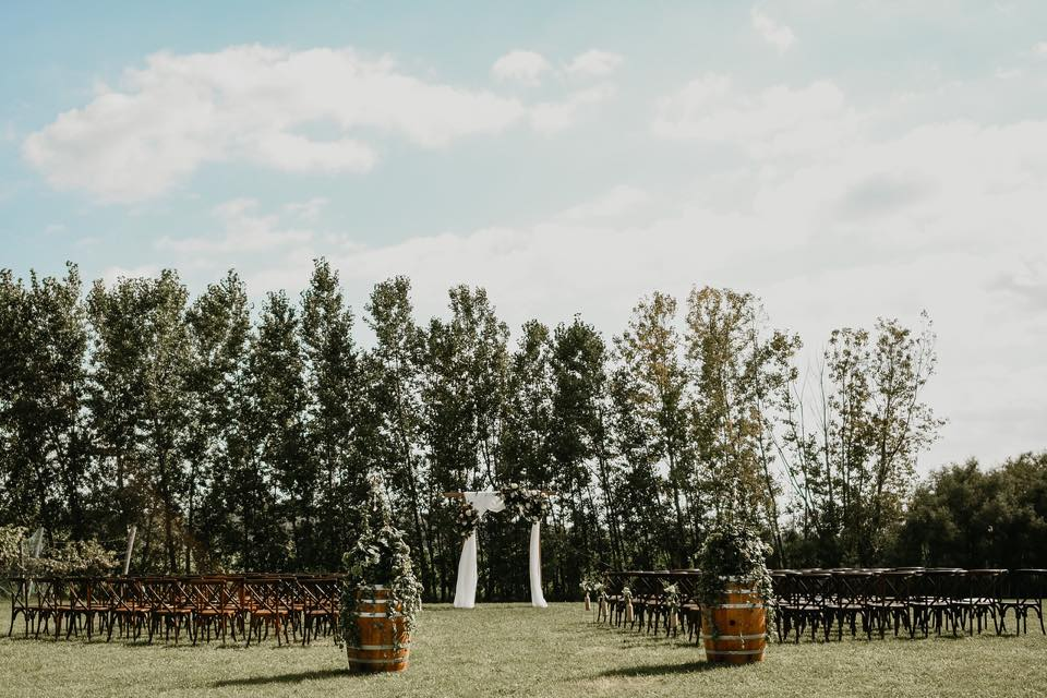 Weddings Ledgestone Vineyards