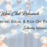 NOVEMBER 9th • Ticketed Tasting Social on Saturday Evening